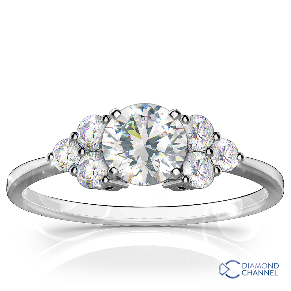 Traviata Diamond Engagement Ring