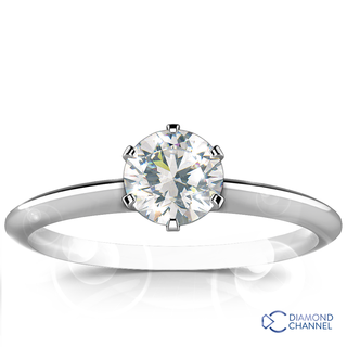 Classic Solitaire Diamond Ring (0.41ct. tw.)