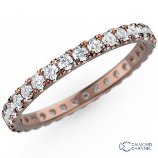 Nova French Pave Diamond Full Eternity (0.75ct TW*)