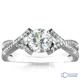 Diamond Engagement Ring Set (0.67ct tw)