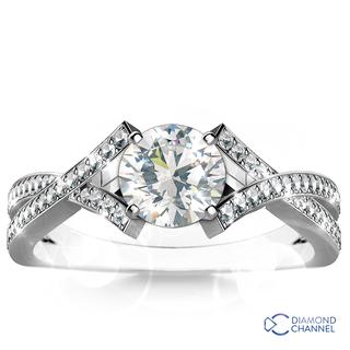 Diamond Engagement Ring Set (0.67ct tw)
