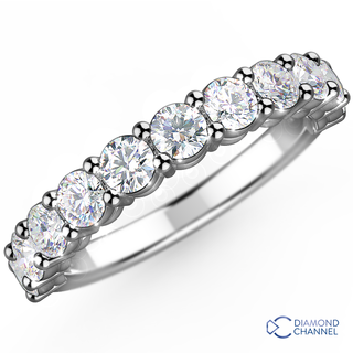 Ran Box set Half Eternity Ring (0.3ct TW*)