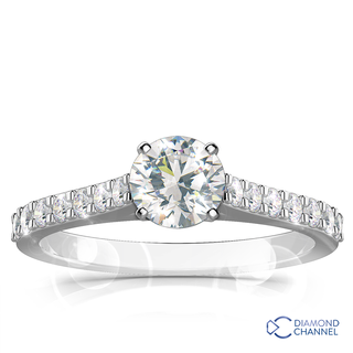 Diamond Engagement Ring Set (0.49ct tw)