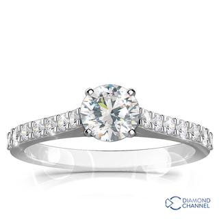 Diamond Engagement Ring Set (0.49ct tw)