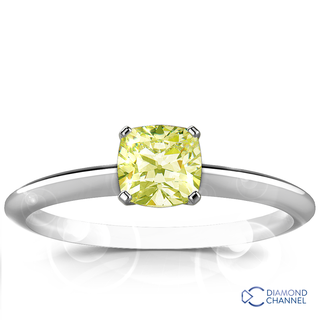 Knife Edge Solitaire Diamond Engagement Ring (0.91ct tw)