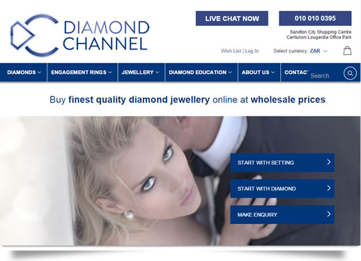 The Diamond Channel Web Site